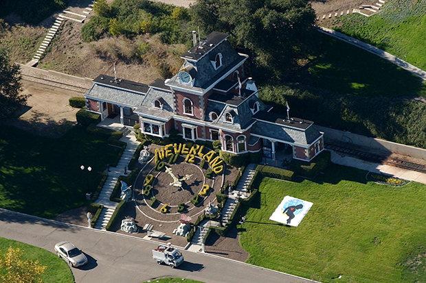 نورلند مایکل جکسون در معرض خطر آتشسوزی کالیفرنیا