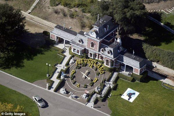 مزرعه نورلند، منزل مایکل جکسون