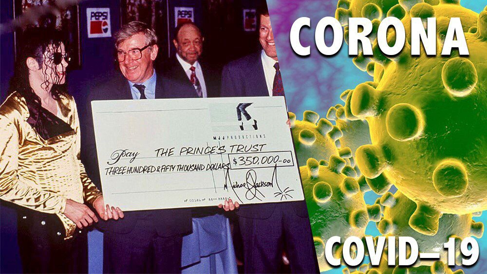 کمک ۳۰۰هزار دلاری بنیاد مایکل جکسون به افراد آسیبدیده از کرونا